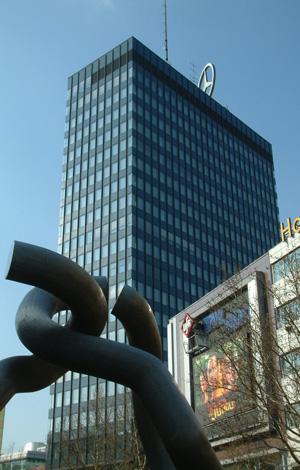 Europa-Center, Breitscheidplatz, Berlin