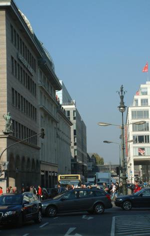 Berlin Friedrichstraße historisches Zentrum Mitte Kreuzberg
