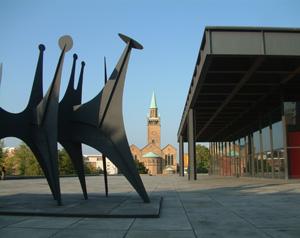 Kulturforum - Neue Nationalgalerie von Mies van der Rohe
