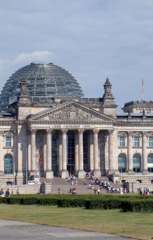 Berlin, Reichstag, Regierungsviertel