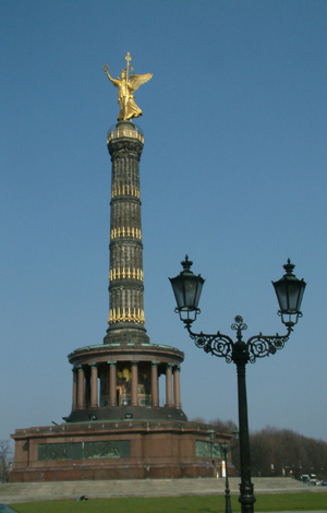 Siegessäule, Gold Else, Berlin