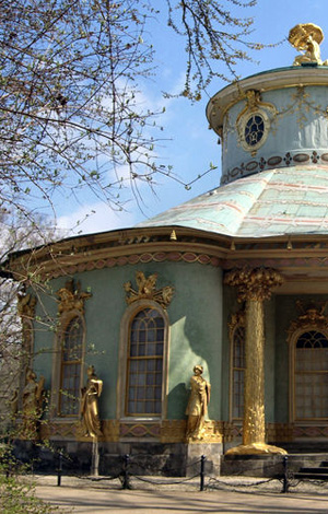 Chinesisches Teehaus Gartenpavillon Sanssouci Potsdam