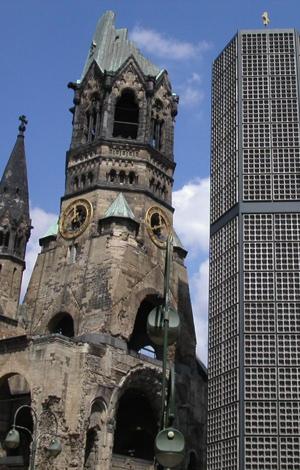 Kaiser-Wilhelm-Gedächtniskirche hohler Zahn Berlin