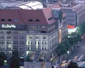 Kaufhaus des Westens KaDeWe größte Warenhaus Luxuswaren