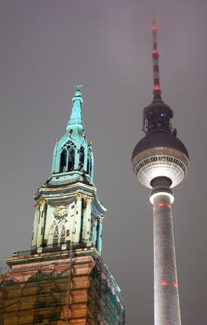 Marienkirche, Alexanderplatz, Berlin