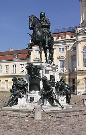 Reiterstandbild Großer Kurfürst, Schloss Charlottenburg, Berlin