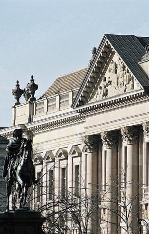 Staatsbibliothek, Unter den Linden