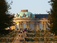 walking tour Potsdam castle Sanssouci