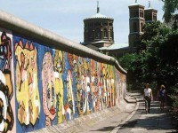 Berlin wall students tour