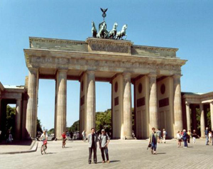 Brandenburger Tor Berlin Pariser Platz Tiergarten Wahrzeichen Sightseeing