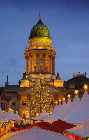 Weihnachtsmarkt, Gendarmenmarkt, weihnachtliche Touren in Berlin