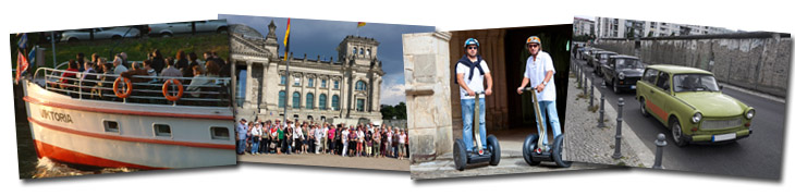 Rahmenprogramm f. FirmenEvent, Berlin Tour and Guide