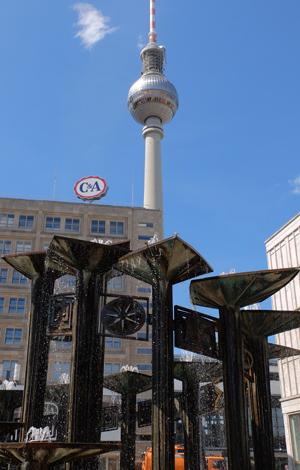 Berlin Alexanderplatz, Fernsehturm